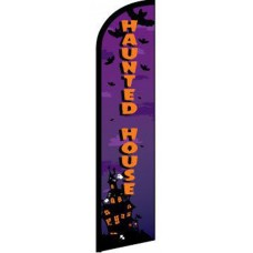 Haunted House Windless Swooper Flag