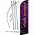 Haunted House Windless Swooper Flag Bundle