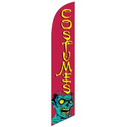 Costumes Zombie Windless Swooper Flag