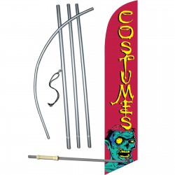 Costumes Zombie Windless Swooper Flag Bundle