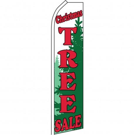 Christmas Tree Sale Green Swooper Flag