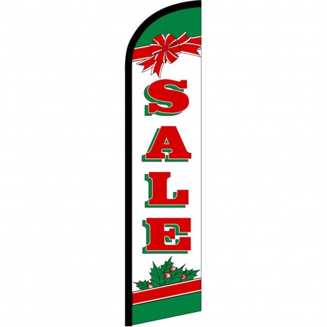 Sale Holiday Bow Windless Swooper Flag