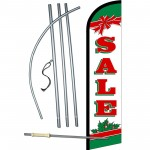 Sale Holiday Bow Windless Swooper Flag Bundle