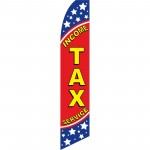 Income Tax Service Stars Swooper Flag