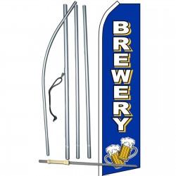 Brewery Blue Swooper Flag Bundle