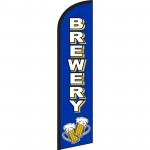 Brewery Blue Windless Swooper Flag