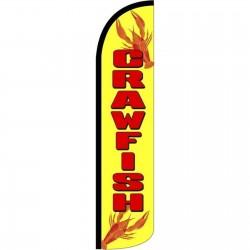 Crawfish Windless Swooper Flag