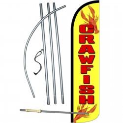 Crawfish Windless Swooper Flag Bundle
