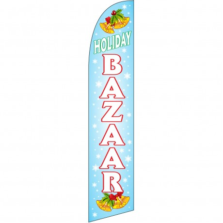 Holiday Bazaar Windless Swooper Flag