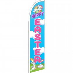 Happy Easter Windless Swooper Flag