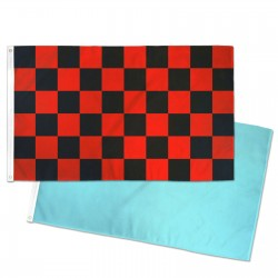 Solid Color & Checkered Flags