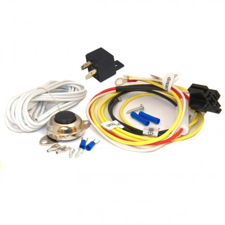 Relay, Wire Harness & Button Kit for Air Horns