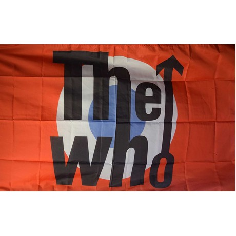 The Who Novelty Music 3'x 5' Flag