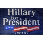 HILLARY FOR PRESIDENT 3' x 5' Polyester Flag