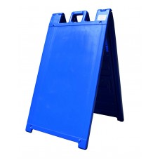 Signicade A-Frame Sidewalk Sign Blue Frame Only