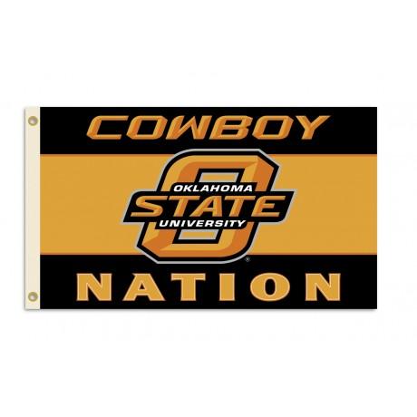 Oklahoma State Cowboys 3'x 5' Premium Flag