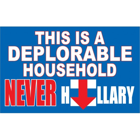 DEPLORABLE HOUSE  3' x 5' Polyester Flag
