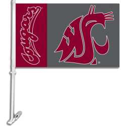 College Two Sided Car Flags