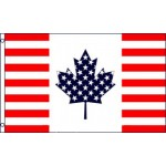 USA Canada Friendship 3'x 5' Flag