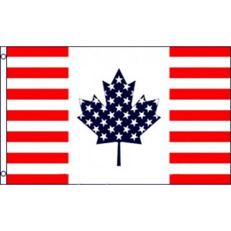 USA Canada Friendship 3'x 5' Flag