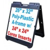 Corex A-Frame Signs