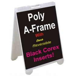Signicade Poly Plastic A-frames