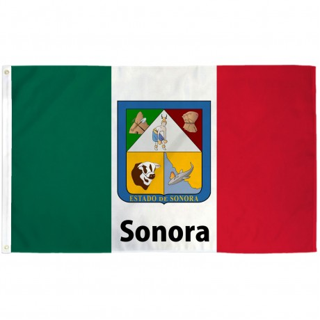 Sonora Mexico State 3' x 5' Polyester Flag