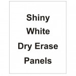 "24"" x 44"" Dry Erase White Board Replacement Panel"