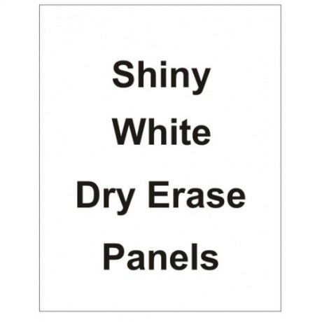 "22"" x 28"" Dry Erase White Board Replacement Panel"