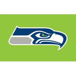 SEAHAWKS GREEN 3' x 5' Polyester Flag