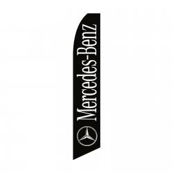 Mercedes-Benz Black Swooper Flag