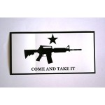Come And Take It Carbine Bumper Sticker