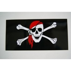 Jolly Roger Bumper Sticker