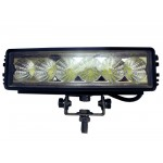 Single Row 18 watt/1350 Lumen LED Light Bar