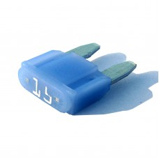 Intelligent 15 amp ASP Mini Blade Fuse