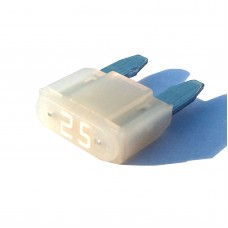 Intelligent 25 amp ASP Mini Blade Fuse