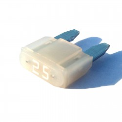 Intelligent 25 amp ASP Mini Blade Fuse