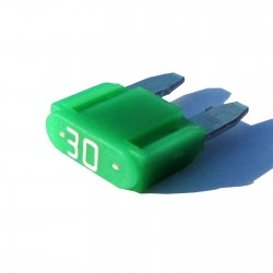 Intelligent 30 amp ASP Mini Blade Fuse