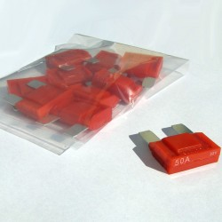 10 Pack-Intelligent 50 amp Maxi Blade Fuse