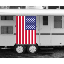 USA American Flag RV Awning Banner