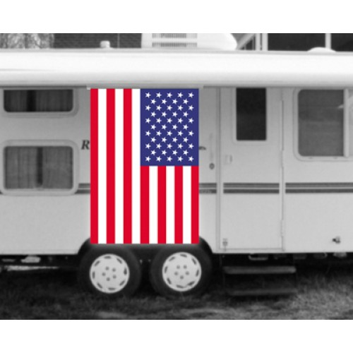 usa american flag rv awning banner k10638 usa by www