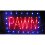 "13"" x 24"" Pawn LED Sign"
