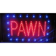 """13"""" x 24"""" Pawn LED Sign"""