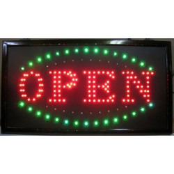 "13"" x 24"" Open LED Sign"