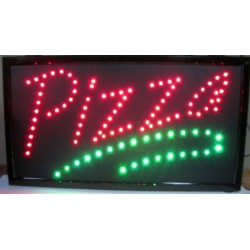 "13"" X 24"" Pizza LED Sign"