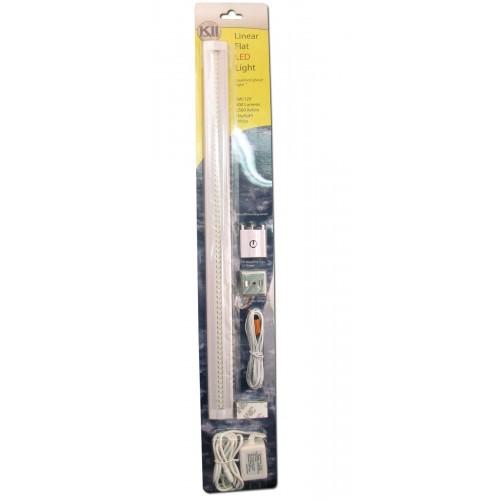 3w Led Car Light Linear Cabinet Under Cabinet Touch On Off: Linear LED Under Cabinet Light Kit (12-032)