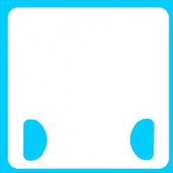 Dry Erase Double Pocket Handle Classroom Board
