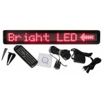 "4""H x 24""W 3 Color Scrolling LED Sign"