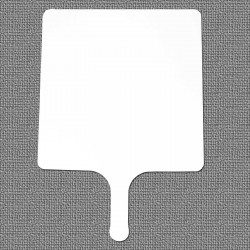 Dry Erase Paddle Handle Classroom Board