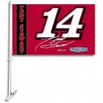 Tony Stewart Two Sided Car Flag